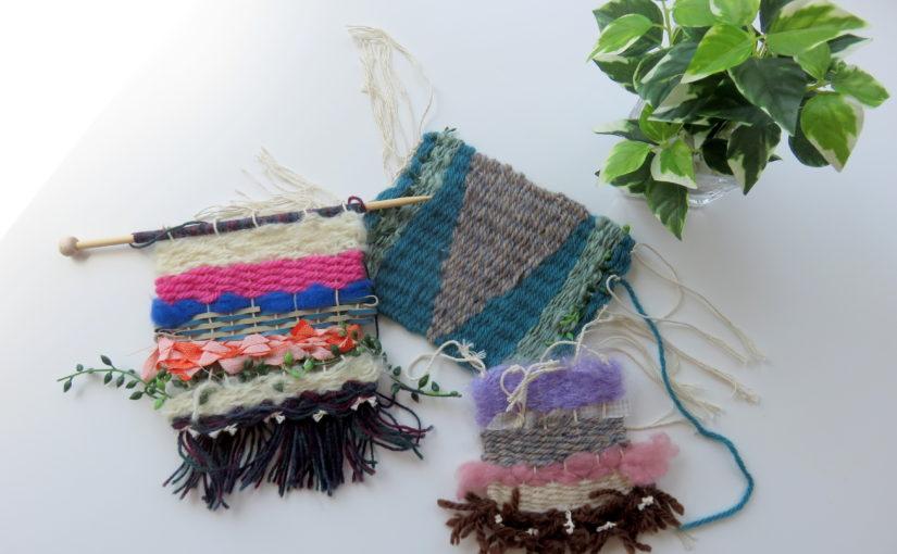 Weaving Art ウォールハンギング Wall Hanging 6月11日